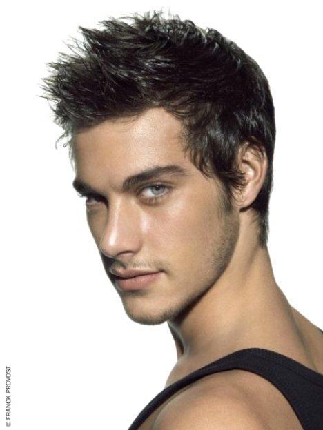 coiffure homme 3 cm