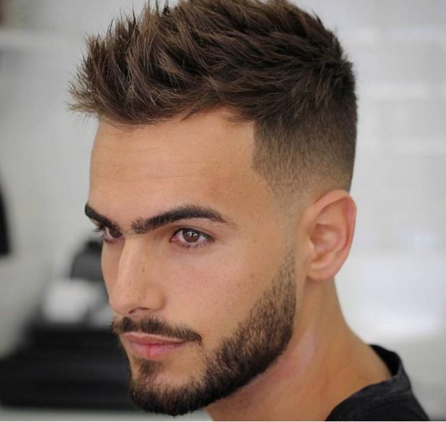 coiffure homme 3 couleurs
