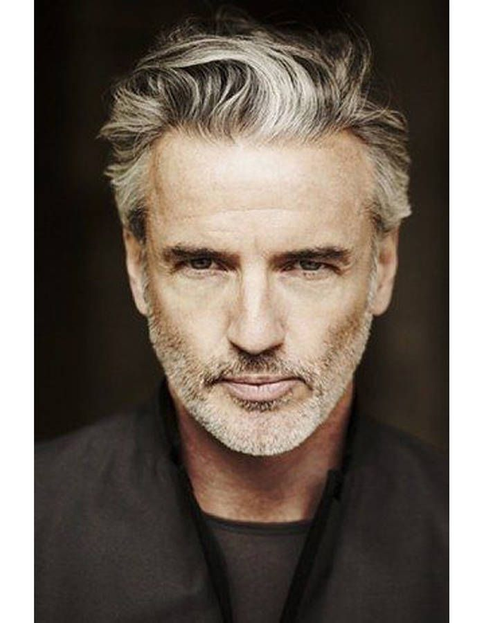 coiffure homme 55 ans