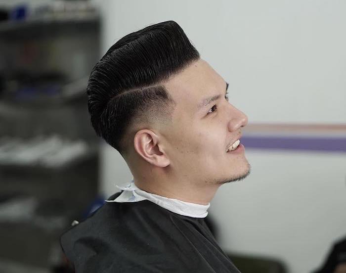 coiffure homme asiatique