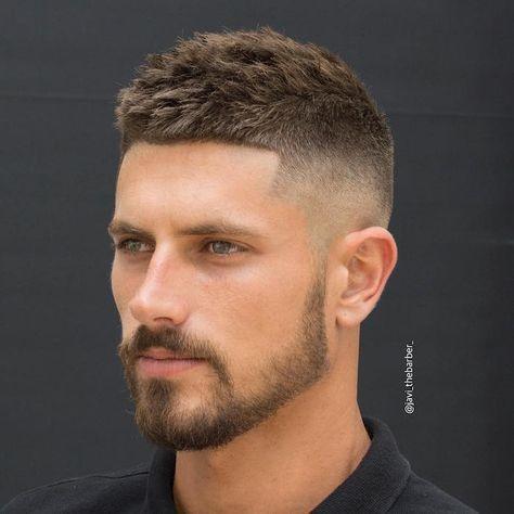coiffure homme court degrade