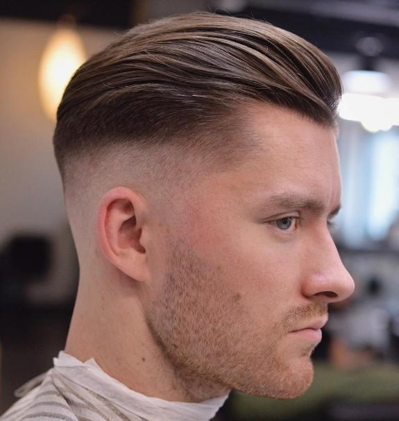 coiffure homme degarni