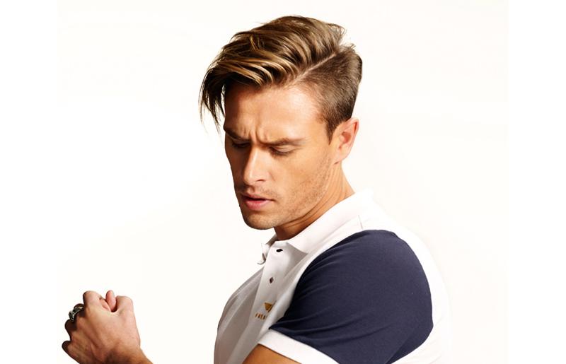 coiffure homme effet naturel
