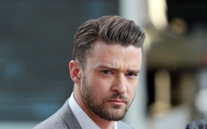 coiffure homme justin timberlake