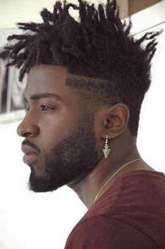 coiffure homme locks