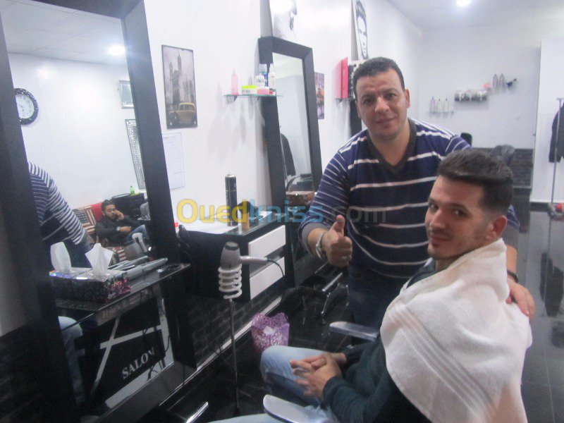 coiffure homme ouedkniss