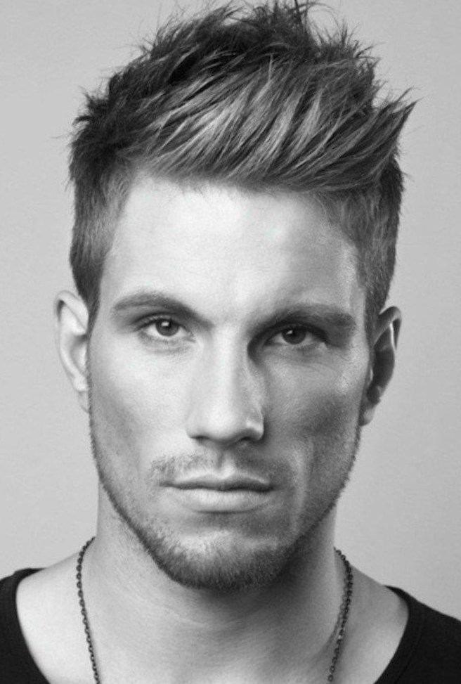 coiffure homme sur le cote