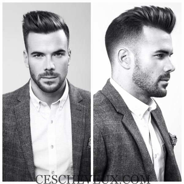 coiffure homme tendance hiver 2018