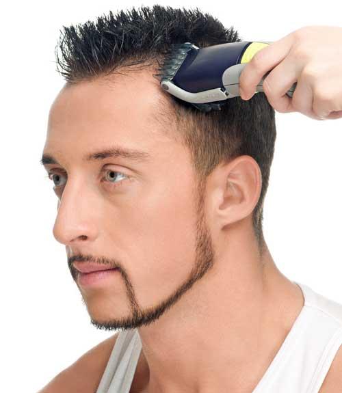 coiffure homme tondeuse