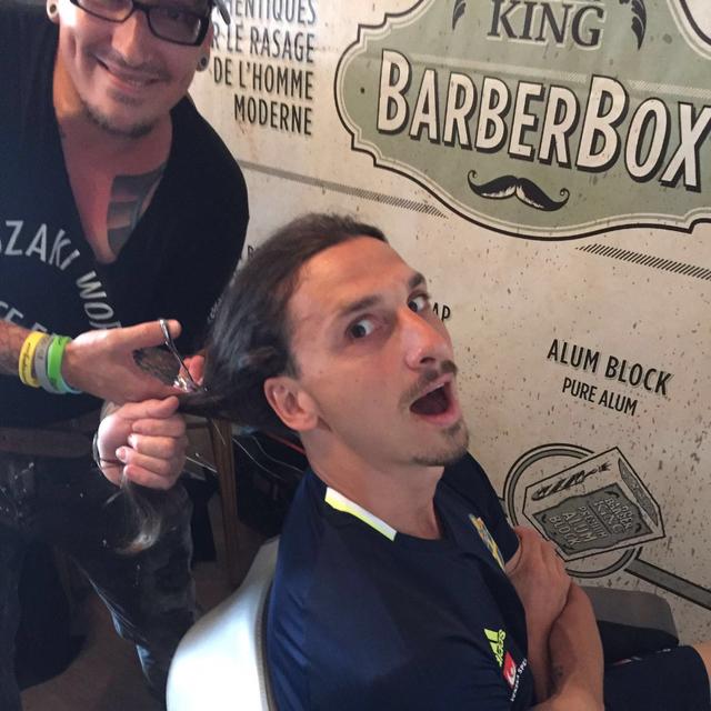 coiffure homme zlatan