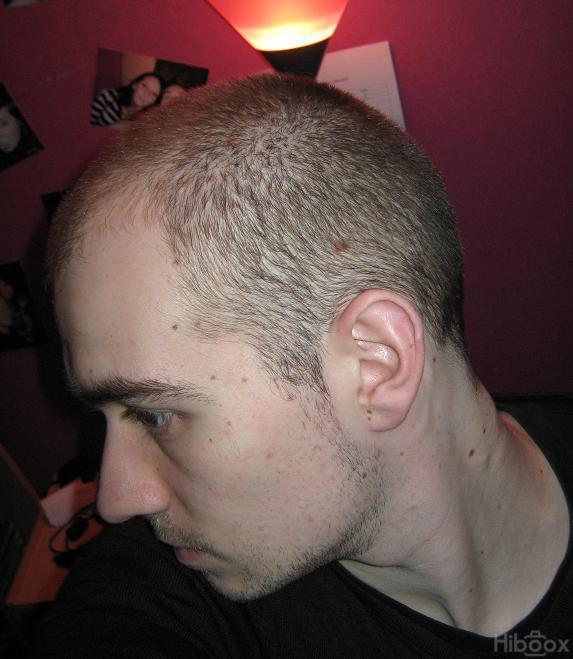 coupe de cheveux homme 12mm