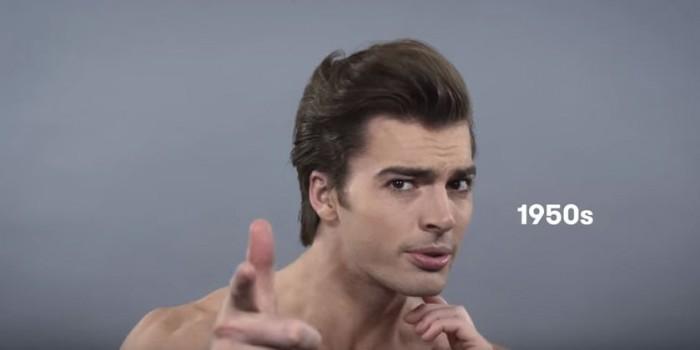 coupe de cheveux homme 1950