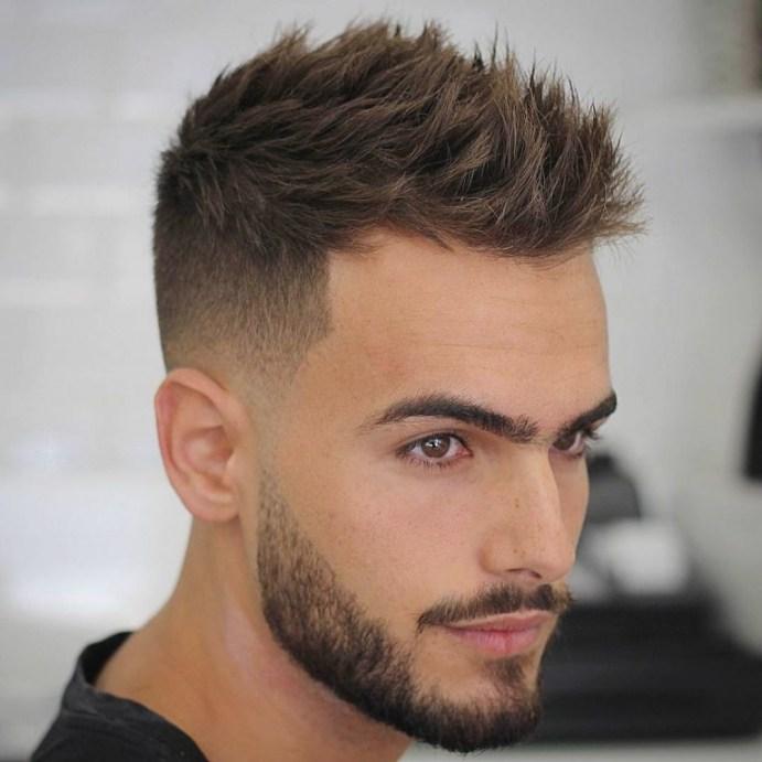 coupe de cheveux homme 2018 court degrade