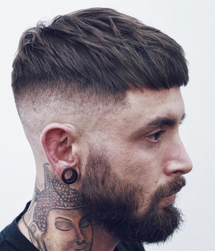 coupe de cheveux homme 2018 court