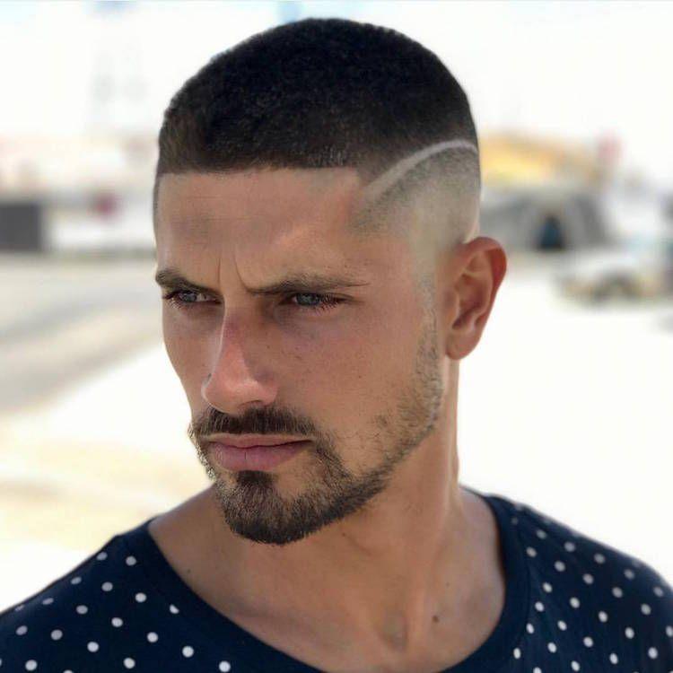 coupe de cheveux homme 2018 trait