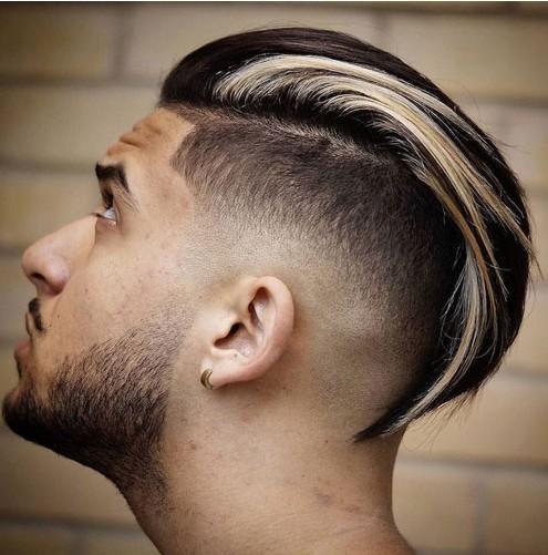 coupe de cheveux homme 4 cm