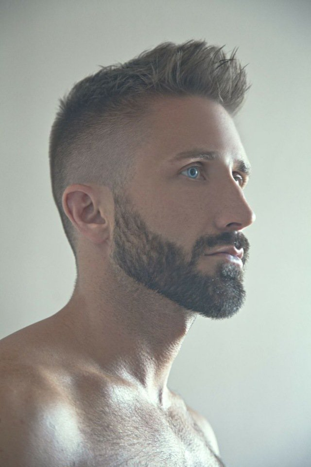 coupe de cheveux homme 8mm