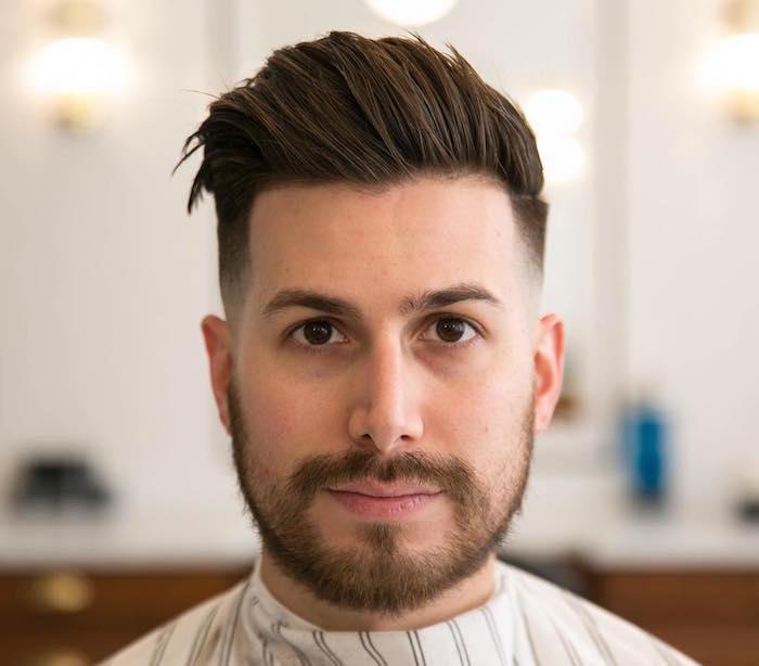 coupe de cheveux homme a la mode 2018
