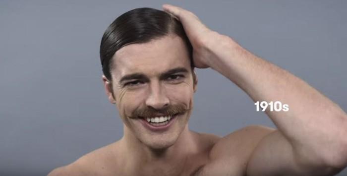 coupe de cheveux homme annee 90