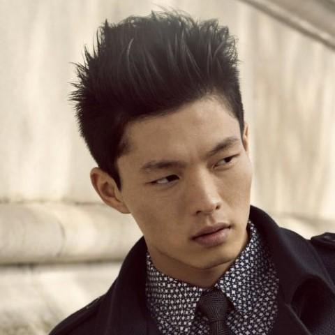 coupe de cheveux homme asiatique