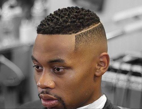 coupe de cheveux homme court afro