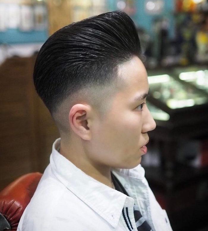 coupe de cheveux homme court asiatique