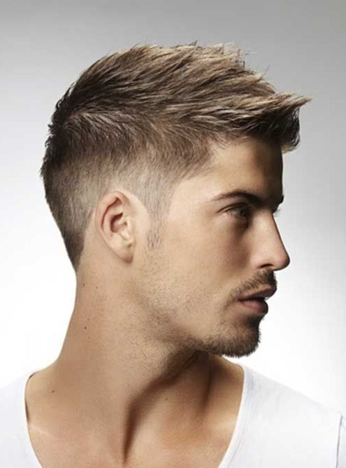 coupe de cheveux homme court blond