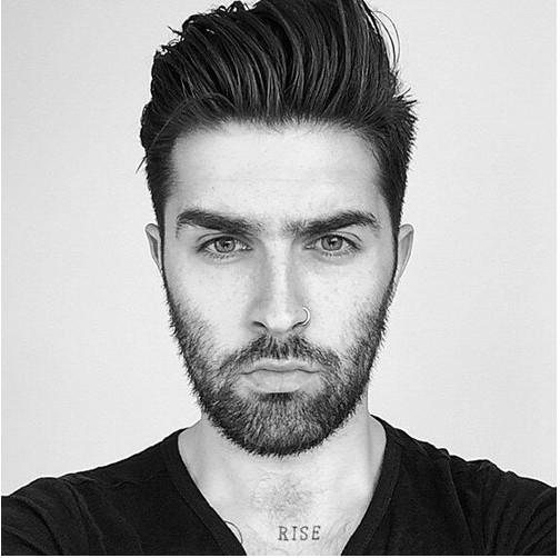 coupe de cheveux homme court classe