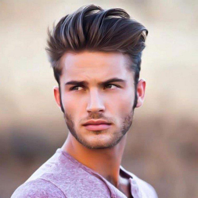 coupe de cheveux homme court et long