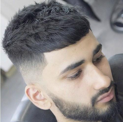 coupe de cheveux homme crop