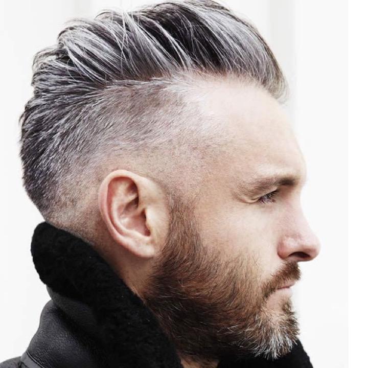 coupe de cheveux homme degrade mi long