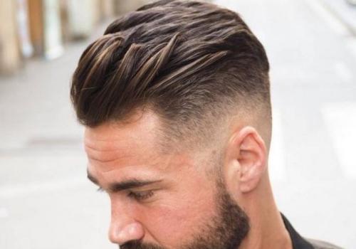 coupe de cheveux homme degrade moderne