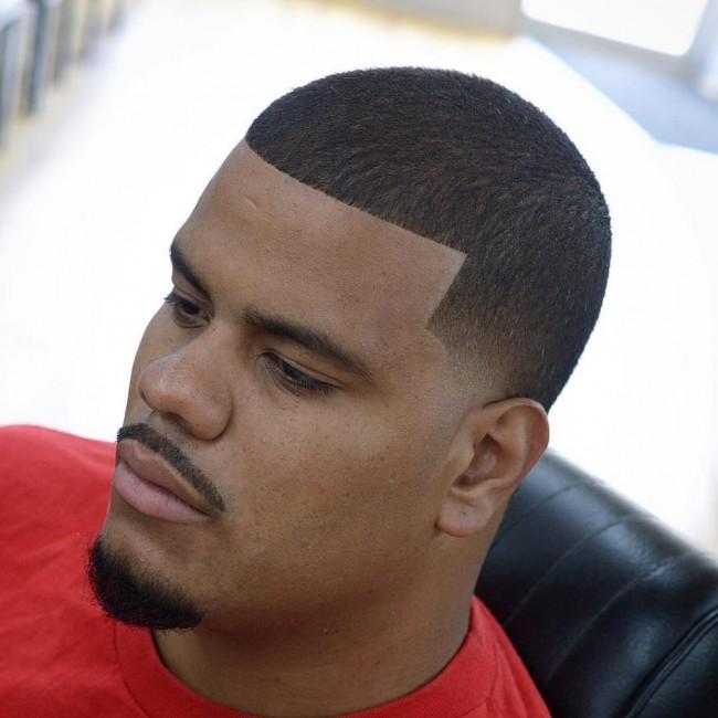 coupe de cheveux homme degrade noir