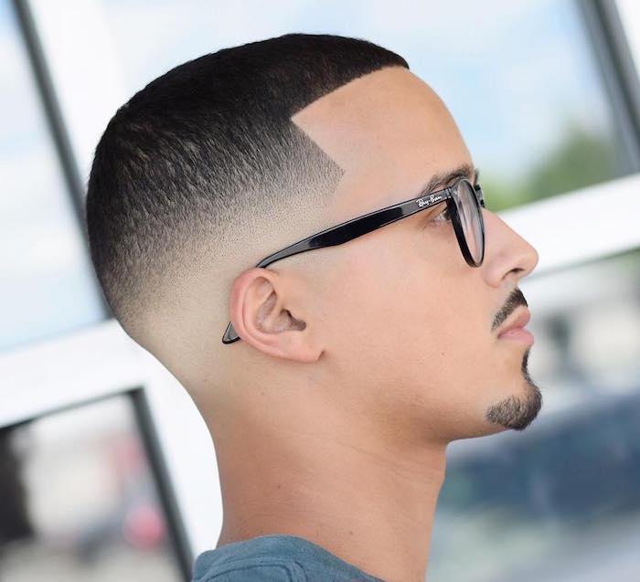 coupe de cheveux homme degrade progressif