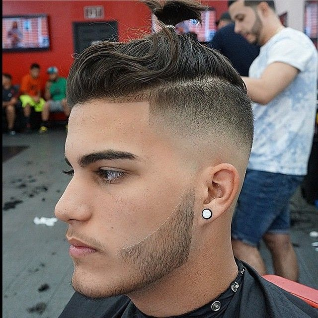 coupe de cheveux homme degrade tondeuse