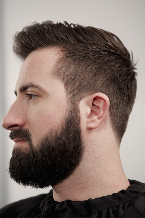 coupe de cheveux homme facile
