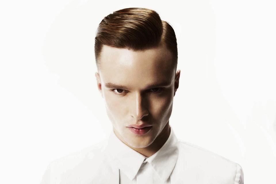 coupe de cheveux homme gomine