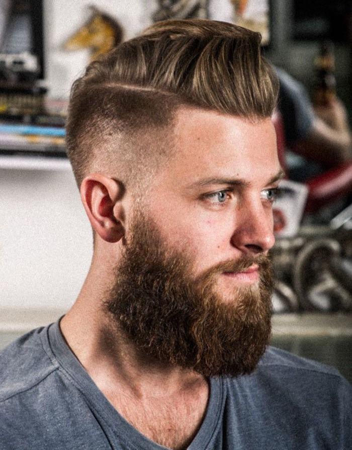 coupe de cheveux homme hipster court