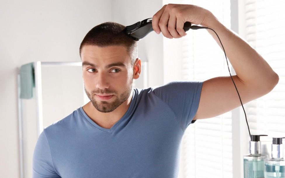 coupe de cheveux homme imberbe