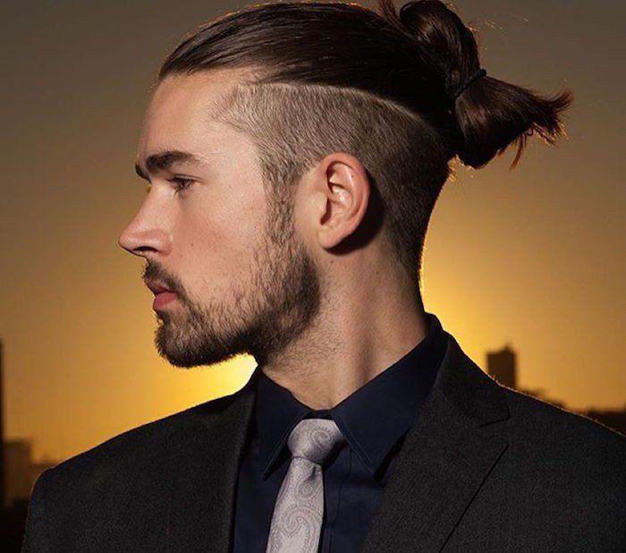 coupe de cheveux homme long degrade