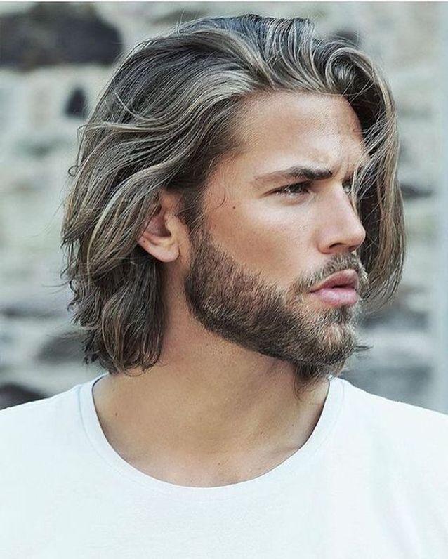 coupe de cheveux homme long