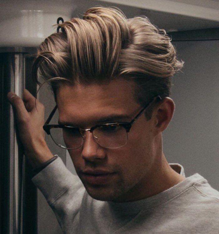 coupe de cheveux homme meche longue