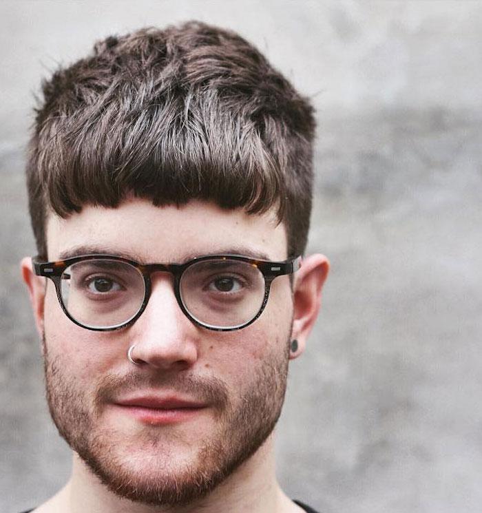 coupe de cheveux homme mi long degrade 2018 - Coupe pour homme