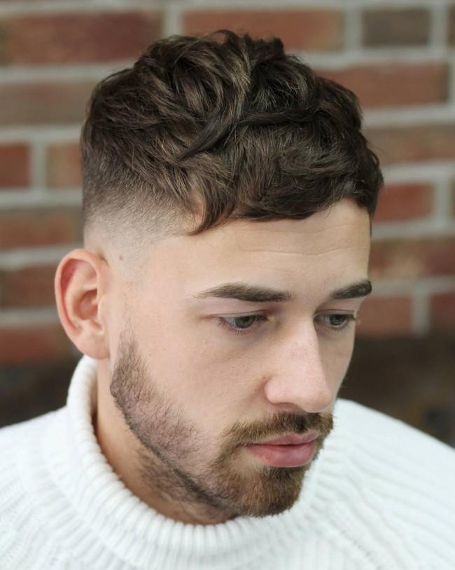 coupe de cheveux homme naturel