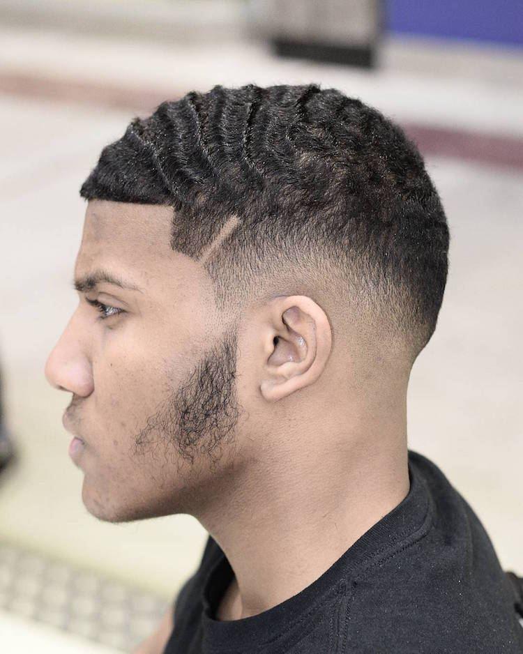 coupe de cheveux homme noir 2018 court degrade