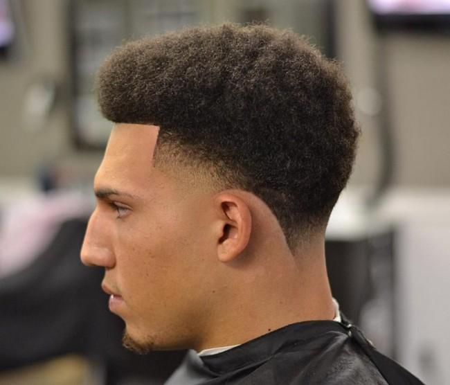 coupe de cheveux homme noir degrade 2017