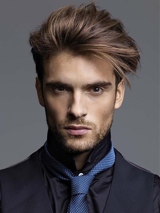coupe de cheveux homme pour cheveux fins