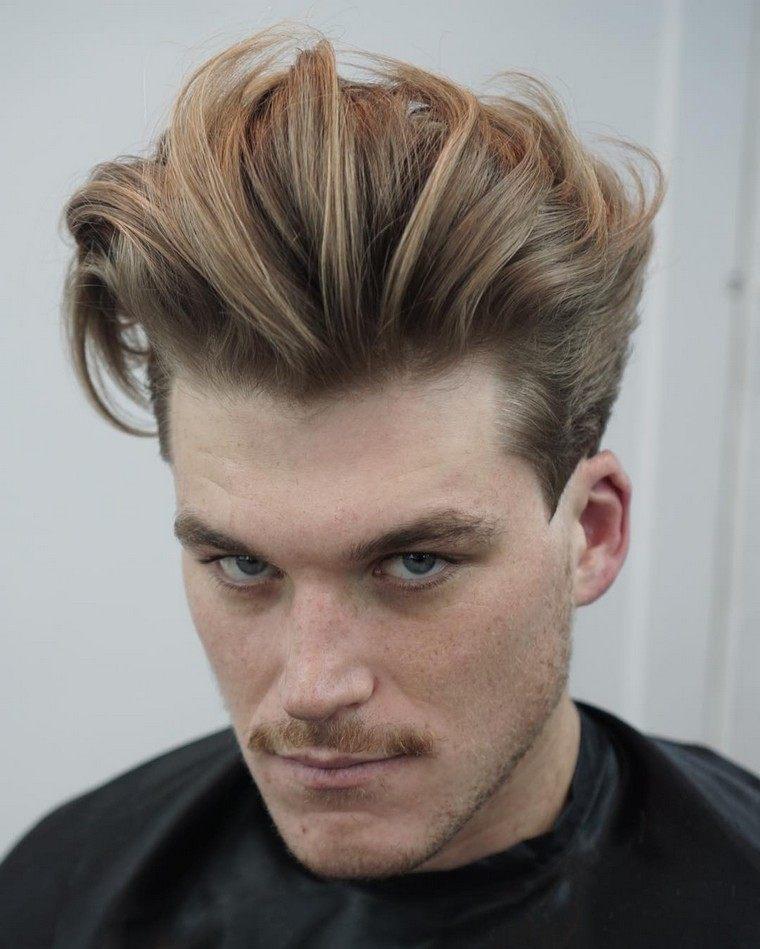 coupe de cheveux homme punk