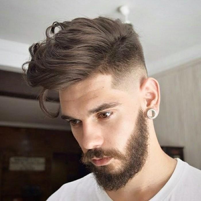 coupe de cheveux homme qui cache les oreilles