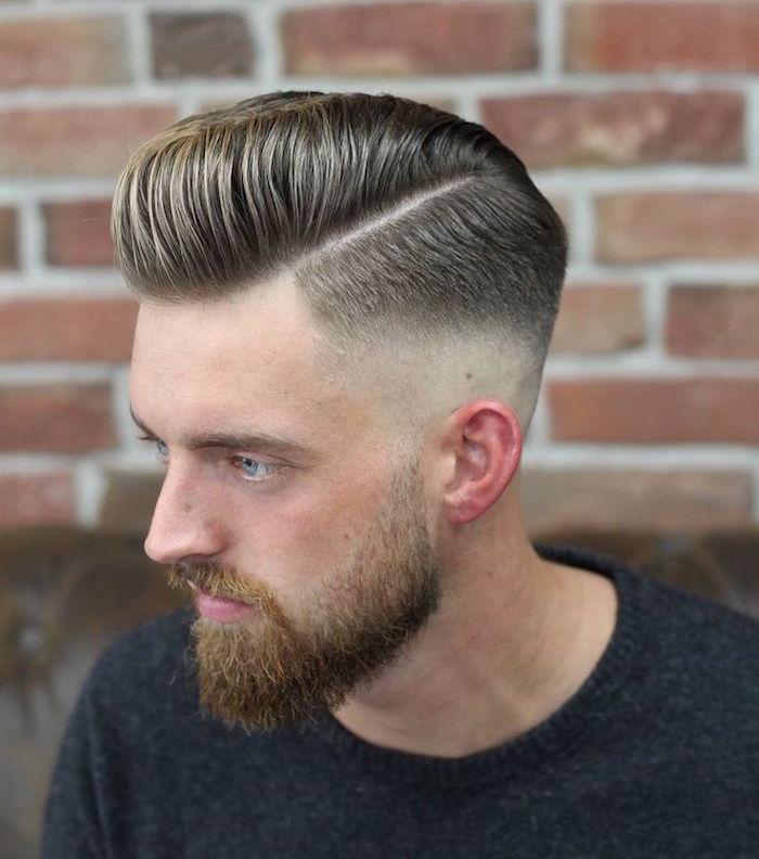 coupe de cheveux homme retro